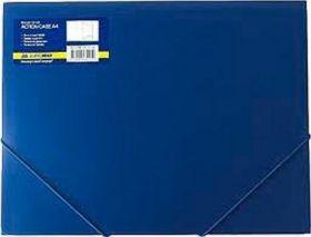 Папка на резинках Buromax А4, 550 мкм, синяя