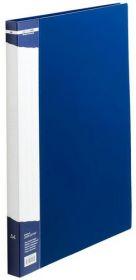Папка A4 с боковым прижимом, синяя