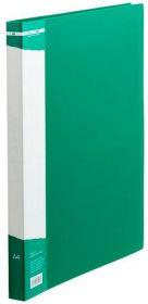 Папка с прижимом Buromax А4, 700 мкм, зелёная