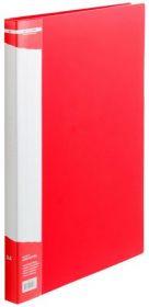 Папка с прижимом Buromax А4, 700 мкм, красная