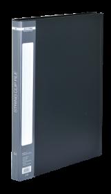Папка со скоросшивателем Buromax А4, 700 мкм, черная