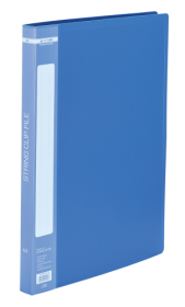 Папка A4 со скоросшивателем, синяя