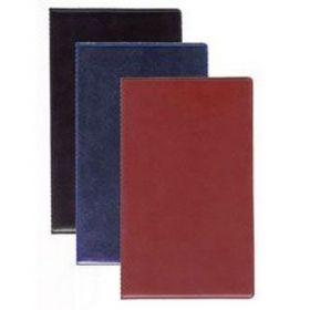 Папка для счета официанта (винил, темно-синяя)