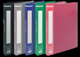 Папка с 20 файлами Buromax А4, ассорти