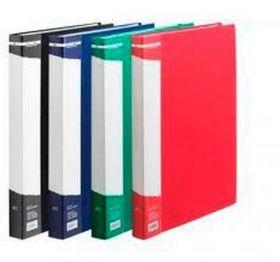 Папка с 30 файлами Buromax А4, зелёная
