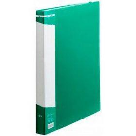 Папка с 40 файлами Buromax А4, зелёная