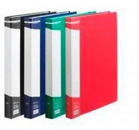 Папка с 60 файлами Buromax А4, синяя