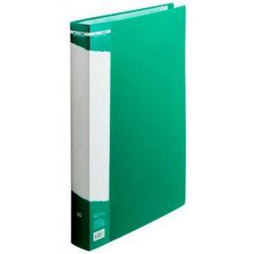 Папка с 60 файлами Buromax А4, зелёная