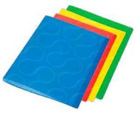 Папка с 20 файлами Panta Plast OMEGA А4, ассорти