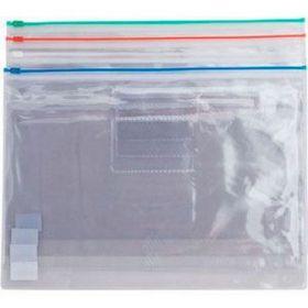 Папка-конверт на молнии Buromax А4, 160 мкм, красная