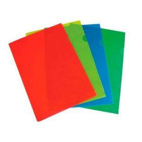 Папка-уголок Panta Plast OMEGA A4, 180 мкм, ассорти