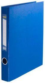 Папка на кольцах Buromax А4, 40 мм, 2D, PVC, синий