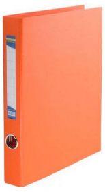 Папка на кольцах Buromax А4, 40 мм, 2D, PVC, оранжевий