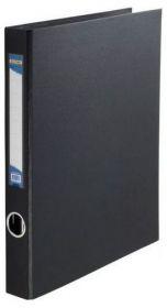 Папка на кольцах Buromax А4, 40 мм, 4D, PVC, черный