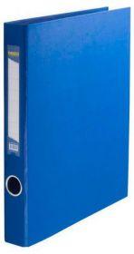 Папка на кольцах Buromax А4, 40 мм, 4D, PVC, синий