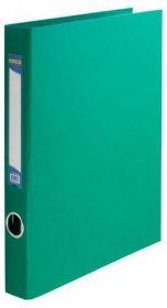 Папка на кольцах Buromax А4, 40 мм, 4D, PVC, зелёный