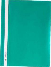 Скоросшиватель Buromax А4, PP, зелёный