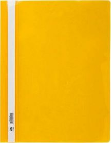 Скоросшиватель Buromax А4, PP, желтый