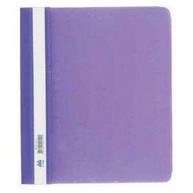 Скоросшиватель Buromax А5, PP, фиолетовый