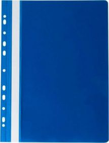 Скоросшиватель Buromax PROFESSIONAL A4, PVC, темно-синий