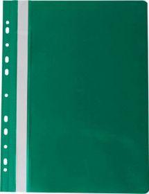 Скоросшиватель Buromax PROFESSIONAL A4, PVC, зелёный