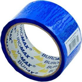 Скотч упаковочный Buromax 48 мм x 35 м, синий, 1 шт