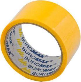 Скотч упаковочный Buromax 48 мм x 35 м, желтый, 1 шт