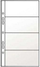 Файл для 8 визиток Panta Plast 127х242 мм, 90 мкм, 10 шт