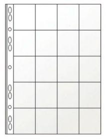Файл для 20 монет А4 (11отверстий, PVC)