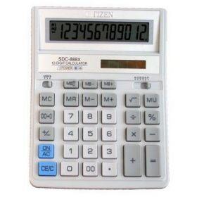 Калькулятор SDC-888 ХWH, бело-серый, 12 разрядов