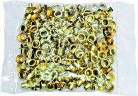 Заклепки (люверсы) 4.5 мм для ВРE - 20, золото, 250 шт
