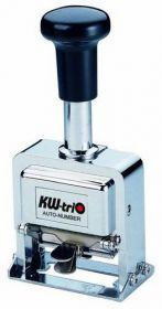 Нумератор металлический 8-разрядный, 4.8 мм KW-triO 20800