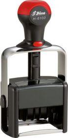 Датер металлический, автоматический со свободным полем 50х30 мм