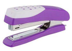 Степлер (скобы №10), фиолетовый