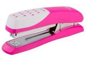 Степлер (скобы №24, 26), розовый