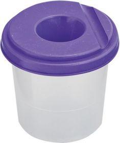 Стакан-непроливайка, фиолетовый