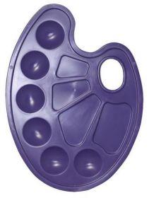 Палитра для рисования, фиолетовая