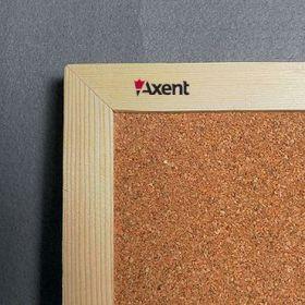 Доска пробковая Axent  45x60 см