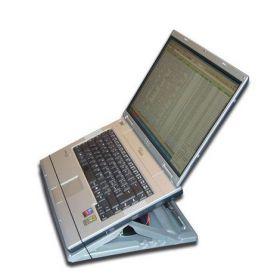 Подставка-кейс для ноутбука PORTA NOTE BOOK, серебристая