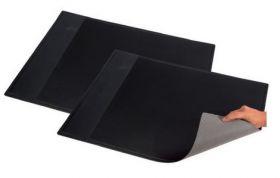 Подкладка для письма Panta Plast с карманом 652х512 мм, черная