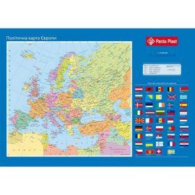 Подкладка для письма Panta Plast Карта Европы 590х415 мм