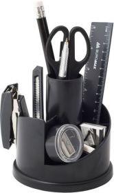 Набор настольный Buromax, 13 предметов, черный