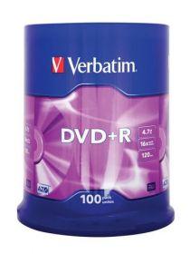 Диск DVD+R, 4.7Gb, 16х, Cake(100)