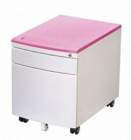 Тумбочка Mealux BD-C9PN розовая