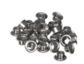 Заклепки (люверсы) 4.0 мм, серебро, 1000 шт
