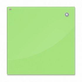 Доска стеклянная магнитно-маркерная 2х3  45x45 см, светло-зеленая