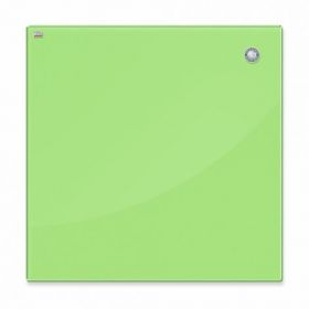 Доска стеклянная магнитно-маркерная 2х3  40x60 см, светло-зеленая