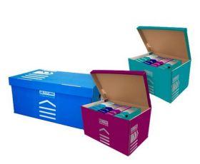 Короб для архивных боксов Buromax, синий