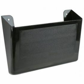 Лоток для бумаг настенный, черный
