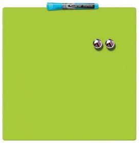 Доска магнитно-маркерная REXEL Quartet Color  36х36 см, зеленая